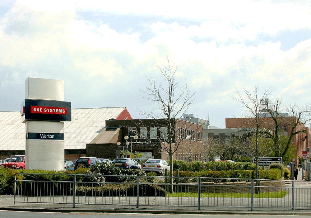 Consolidation Of Manufacturing Facilities At Bae Warton